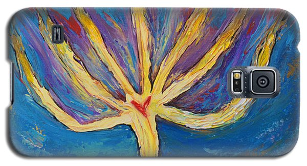 Galaxy S5 Case featuring the painting Holy Spirit Which Dwells In You by Cassie Sears