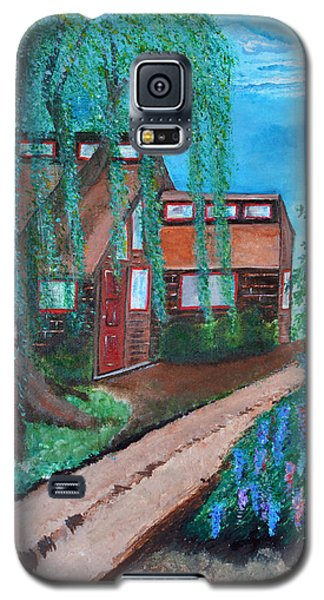 Galaxy S5 Case featuring the painting Home by Cassie Sears