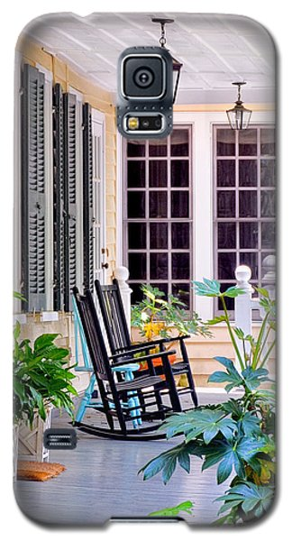Veranda - Charleston, S C By Travel Photographer David Perry Lawrence Galaxy S5 Case