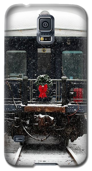 Home For The Holidays Galaxy S5 Case by Karen Lee Ensley