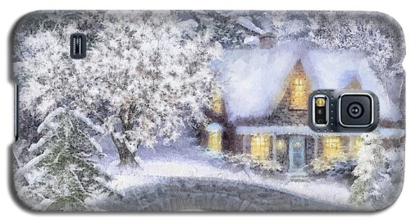 Home For The Holidays Galaxy S5 Case by Mo T