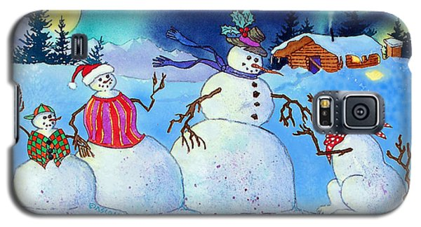 Home For The Holidays Galaxy S5 Case by Teresa Ascone