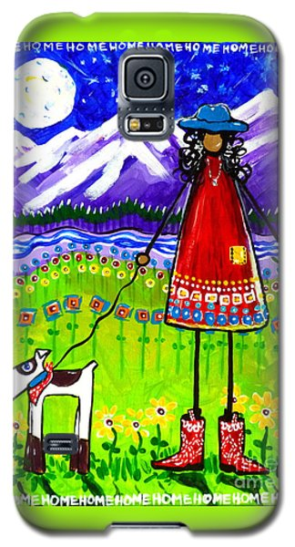 Galaxy S5 Case featuring the painting Home by Jackie Carpenter