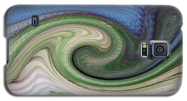 Home Planet - Gravity Well Galaxy S5 Case by Bill Owen