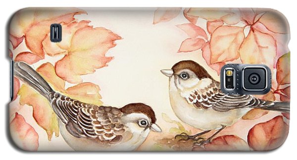 Home Sparrows Galaxy S5 Case