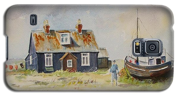Galaxy S5 Case featuring the painting Home Sweet Home Dungeness by Beatrice Cloake