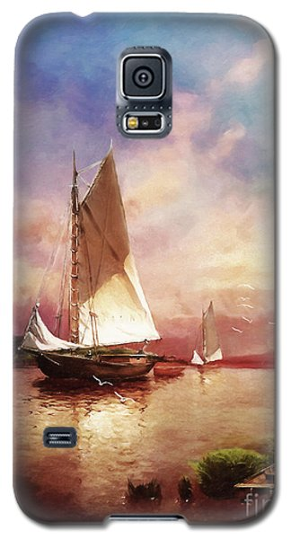 Home To The Harbor Galaxy S5 Case