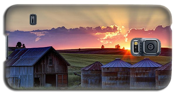 Home Town Sunset Galaxy S5 Case