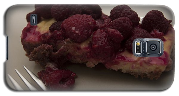 Galaxy S5 Case featuring the photograph Homemade Cheesecake by Miguel Winterpacht