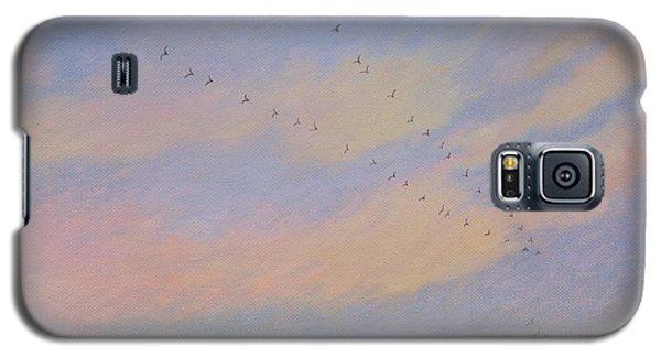 Homeward, 2004 Oil On Canvas Galaxy S5 Case by Ann Brain