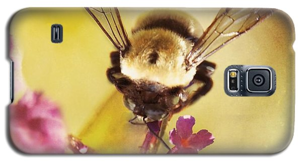 Galaxy S5 Case featuring the photograph Honey Bee by Kim Fearheiley