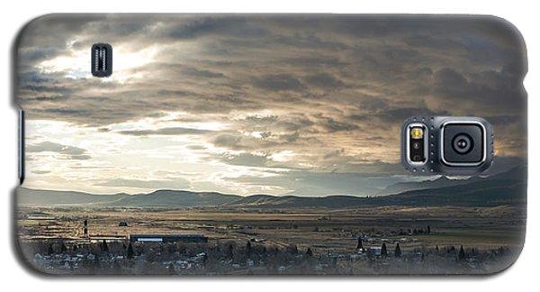 Honey Lake Valley Sunrise Galaxy S5 Case