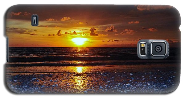 Honey Life Sunset Galaxy S5 Case by Kicking Bear  Productions