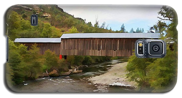 Honey Run Covered Bridge Galaxy S5 Case