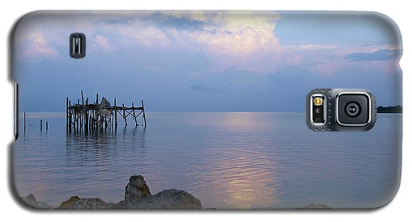 Honeymoon Blue Sunset 1 Galaxy S5 Case