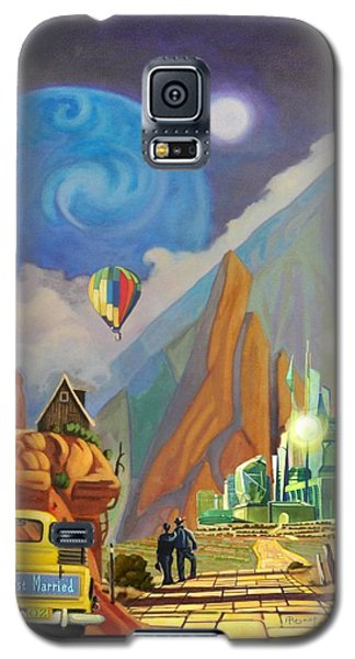 Galaxy S5 Case featuring the painting Honeymoon In Oz by Art West
