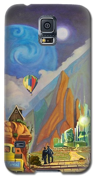 Honeymoon In Oz Galaxy S5 Case by Art West