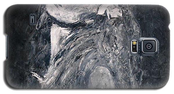 Galaxy S5 Case featuring the painting Honeysuckle by Jarmo Korhonen aka Jarko