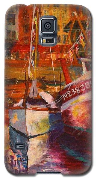 Honfleur Harbor Galaxy S5 Case