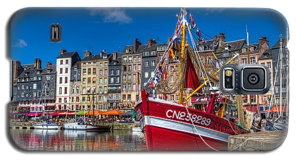 Galaxy S5 Case featuring the photograph Honfleur Normandy by Tim Stanley
