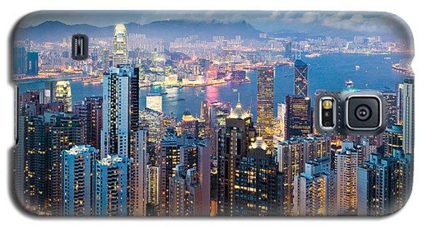Hong Kong At Dusk Galaxy S5 Case