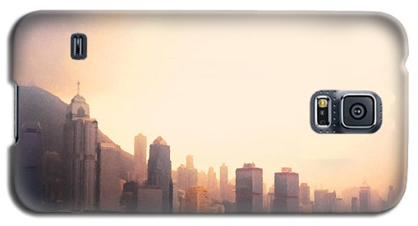 Hong Kong Harbour Sunset Galaxy S5 Case by Pixel  Chimp