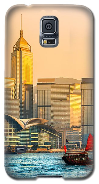 Hong Kong. Galaxy S5 Case by Luciano Mortula