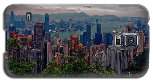 Hong Kong Skyline Galaxy S5 Case by Robert Knight