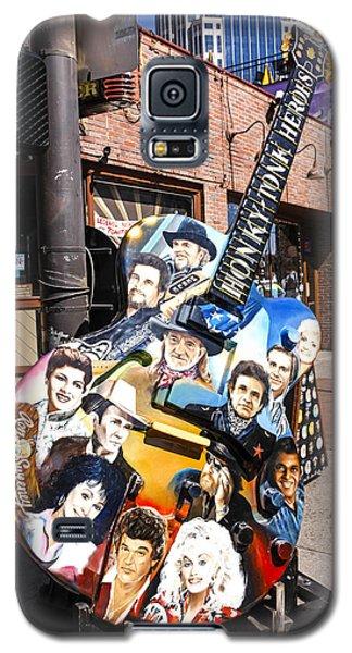Honky Tonk Heroes Guitar Galaxy S5 Case