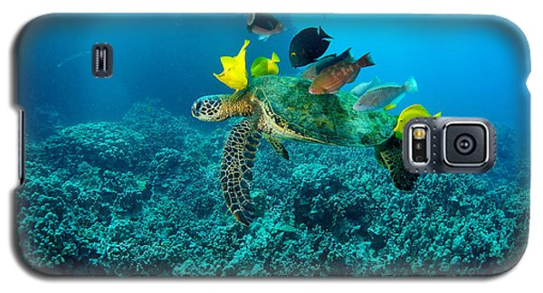 Honu Cleaning Station Galaxy S5 Case
