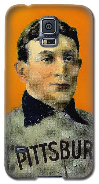 Honus Wagner Baseball Card 0838 Galaxy S5 Case
