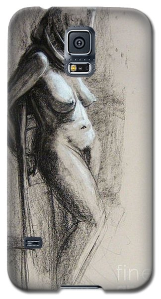 Galaxy S5 Case featuring the drawing Hood by Gabrielle Wilson-Sealy