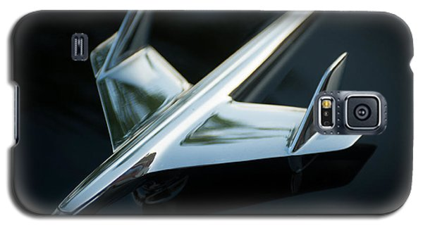 Galaxy S5 Case featuring the photograph Hood Ornament  by Bud Simpson