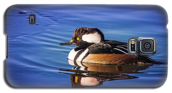 Hooded Merganser Galaxy S5 Case by Janis Knight