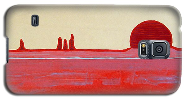 Hoodoo Sunrise Original Painting Galaxy S5 Case