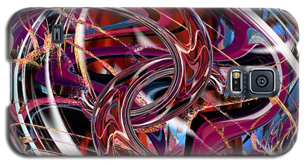Galaxy S5 Case featuring the digital art Hooking Up by rd Erickson