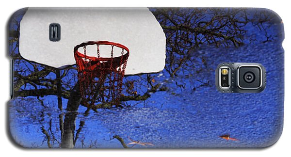 Galaxy S5 Case featuring the photograph Hoop Dreams by Jason Politte
