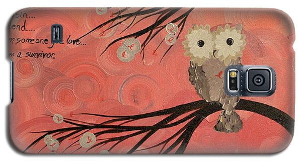 Hoo's Who Care - Find The Cure - Support Breast Cancer Awareness - Hoolandia #383 Galaxy S5 Case
