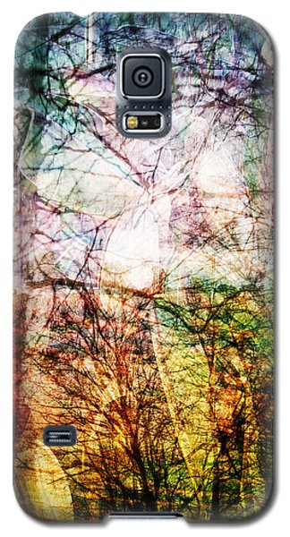 Galaxy S5 Case featuring the mixed media Hoosier Country Opus 1 by Sandy MacGowan