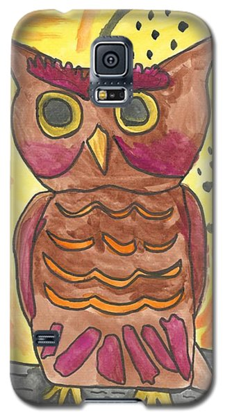 Hoot Galaxy S5 Case by Artists With Autism Inc