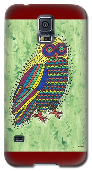 Hoot Owl Galaxy S5 Case by Susie Weber