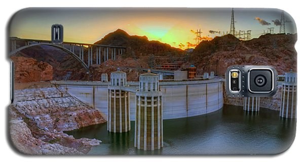 Hoover Dam At Sunset Galaxy S5 Case