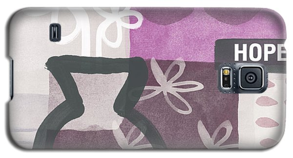 Hope- Contemporary Art Galaxy S5 Case by Linda Woods