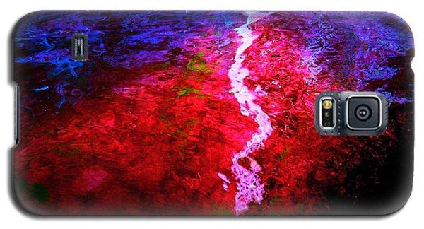 Galaxy S5 Case featuring the digital art Hope For A Broken Heart - Healing Art by Absinthe Art By Michelle LeAnn Scott