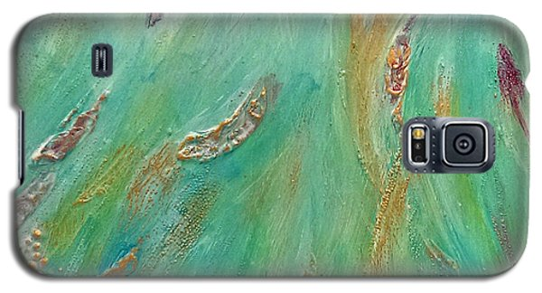 Galaxy S5 Case featuring the painting Hope by Lou Belcher