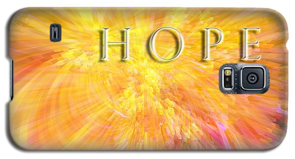 Galaxy S5 Case featuring the digital art Hope by Margie Chapman