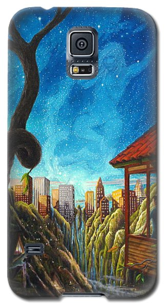 Galaxy S5 Case featuring the painting Hope by Matt Konar