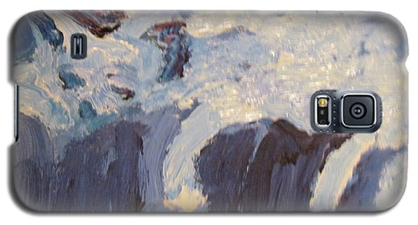Galaxy S5 Case featuring the painting Hope Sleeping by Shea Holliman