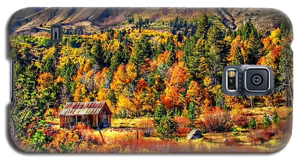 Hope Valley Fall Color Galaxy S5 Case
