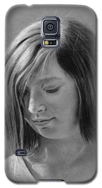 Galaxy S5 Case featuring the drawing Hopeful by Glenn Beasley